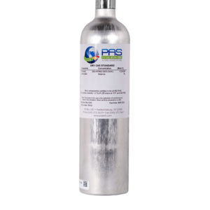 105 Liter Dry Gas (Ethanol Breath Standard) Cylinder