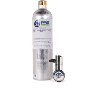34 Liter Dry Gas (Ethanol Breath Standard) Cylinder_kit