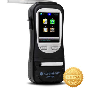Alcovisor JUPITER - DOT Built-In Printer Evidential Breath Tester