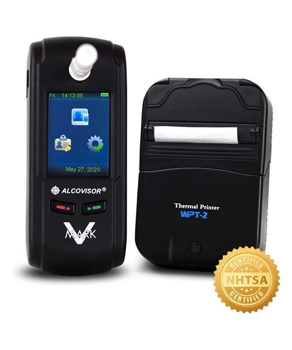 Alcovisor MARK V - DOT Evidential Breath Tester with Thermal Printer