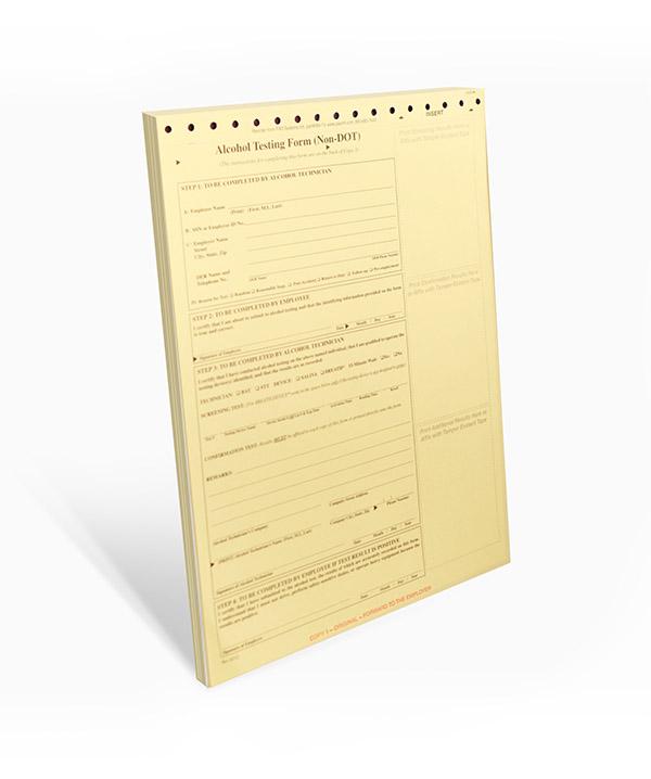Non- DOT Breath Alcohol Testing (BAT) Forms